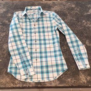 """EXPRESS slim fit button up shirt XS 13-13"""""""